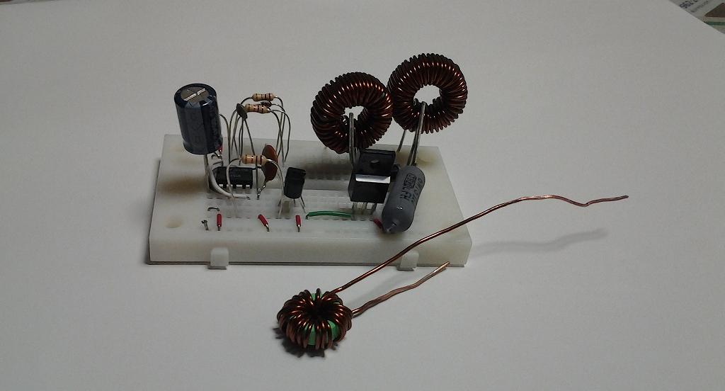 鉛蓄電池復活装置一次試作(1)