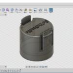 3Dプリンタ(5) フィラメントリールアダプタ